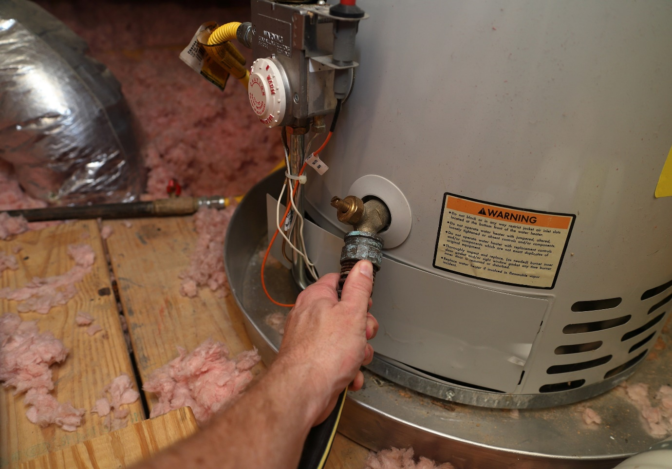 How Do You Drain A Water Heater with A Broken Drain Valve